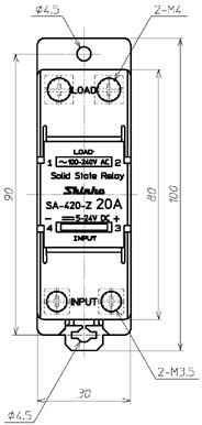SA-420-Z_外形尺寸