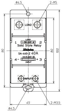 SA-440-Z_外形尺寸