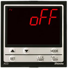 ACD-13A_控制输出OFF_OFF显示