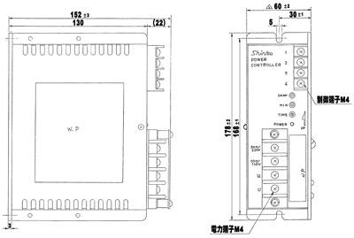 PA-215-H_PA-230-H_尺寸