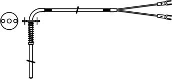 NR型热电偶_形状参考图